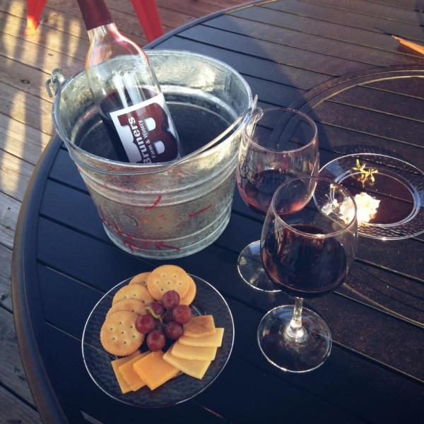 [Image: Nothing pairs better with our signature red wines then gourmet cheese. Get the full experience at our winery! ]